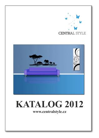 Katalog Central Style 2012 + vzorek samolepky ZDARMA