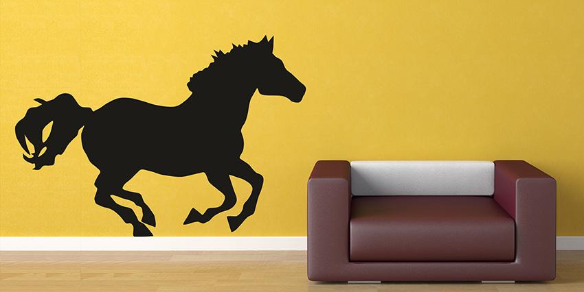 Samolepky na zeď koně